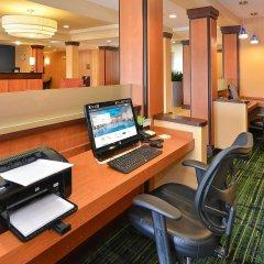 Отель Fairfield Inn And Suites By Marriott Columbus West Колумбус интерьер отеля фото 2