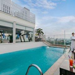 Отель Silk Queen Grand Hotel Вьетнам, Ханой - отзывы, цены и фото номеров - забронировать отель Silk Queen Grand Hotel онлайн бассейн фото 3