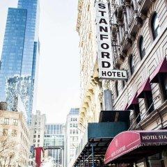 Отель Stanford США, Нью-Йорк - отзывы, цены и фото номеров - забронировать отель Stanford онлайн балкон