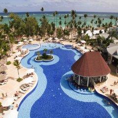 Отель Luxury Bahia Principe Esmeralda - All Inclusive Доминикана, Пунта Кана - 10 отзывов об отеле, цены и фото номеров - забронировать отель Luxury Bahia Principe Esmeralda - All Inclusive онлайн бассейн