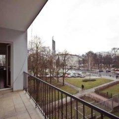Отель P&O Apartments Wiejska Польша, Варшава - отзывы, цены и фото номеров - забронировать отель P&O Apartments Wiejska онлайн балкон