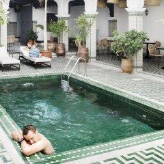 Отель Riad Amssaffah Марокко, Марракеш - отзывы, цены и фото номеров - забронировать отель Riad Amssaffah онлайн бассейн фото 2