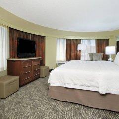 Отель Hampton Inn & Suites Columbus - Downtown США, Колумбус - отзывы, цены и фото номеров - забронировать отель Hampton Inn & Suites Columbus - Downtown онлайн комната для гостей фото 5