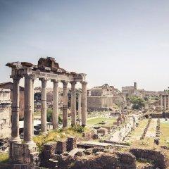Отель Le Quattro Dame Luxury Suites Рим приотельная территория