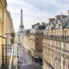 Отель Elysées Union Франция, Париж - 8 отзывов об отеле, цены и фото номеров - забронировать отель Elysées Union онлайн балкон