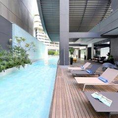 Отель Pan Pacific Serviced Suites Orchard, Singapore Сингапур, Сингапур - отзывы, цены и фото номеров - забронировать отель Pan Pacific Serviced Suites Orchard, Singapore онлайн бассейн фото 2