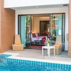 Отель The Beach Heights Resort Таиланд, Пхукет - 7 отзывов об отеле, цены и фото номеров - забронировать отель The Beach Heights Resort онлайн бассейн фото 3