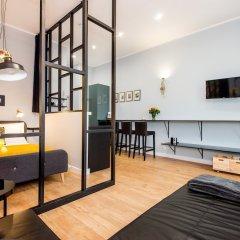 Апартаменты Bliss Apartments Chicago Познань комната для гостей фото 5