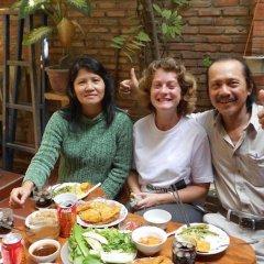 Отель Nha Lan Homestay Хойан питание фото 2