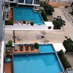 Апартаменты Jomtien Good Luck Apartment балкон