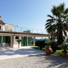 Отель Villa Belvedere Degli Ulivi Озимо парковка