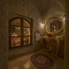 Elika Cave Suites Турция, Ургуп - отзывы, цены и фото номеров - забронировать отель Elika Cave Suites онлайн ванная