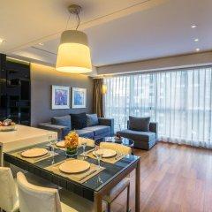 Отель Ascott Raffles City Beijing Китай, Пекин - отзывы, цены и фото номеров - забронировать отель Ascott Raffles City Beijing онлайн комната для гостей фото 5