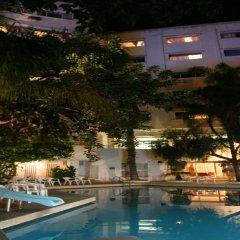 Отель Chellah Hotel Марокко, Танжер - отзывы, цены и фото номеров - забронировать отель Chellah Hotel онлайн бассейн фото 3