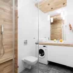 Отель By the River Stylish Apartment Польша, Варшава - отзывы, цены и фото номеров - забронировать отель By the River Stylish Apartment онлайн ванная