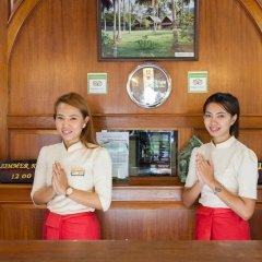 Отель Tropica Bungalow Resort интерьер отеля