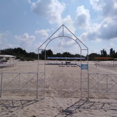 Гостиница Солнечный берег (Анапа) пляж фото 2