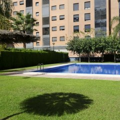 Отель ApartUP Francia Views Испания, Валенсия - отзывы, цены и фото номеров - забронировать отель ApartUP Francia Views онлайн бассейн фото 2