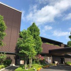 Отель Asagirinomieru Yado Yufuin Hanayoshi Хидзи парковка
