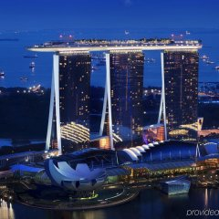 Отель Marina Bay Sands бассейн