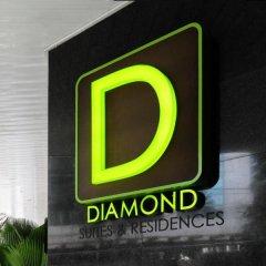 Отель Diamond Suites And Residences Филиппины, Лапу-Лапу - 1 отзыв об отеле, цены и фото номеров - забронировать отель Diamond Suites And Residences онлайн интерьер отеля фото 3