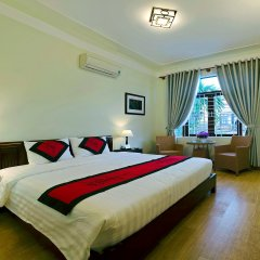 Отель An Hoi Town Homestay комната для гостей