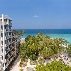 Arena Beach Hotel пляж фото 2