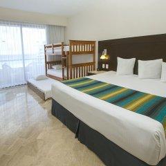 Отель Crown Paradise Club Cancun - Todo Incluido комната для гостей