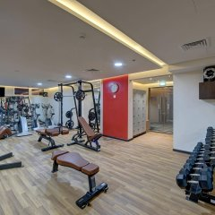 Отель Omega Hotel ОАЭ, Дубай - отзывы, цены и фото номеров - забронировать отель Omega Hotel онлайн фитнесс-зал