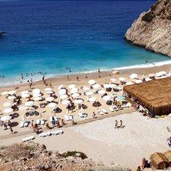 Kas Dogapark Турция, Патара - отзывы, цены и фото номеров - забронировать отель Kas Dogapark онлайн пляж