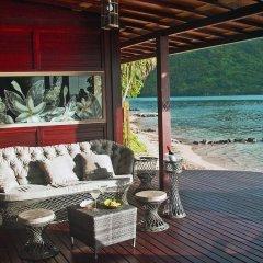 Отель Robinson's Cove Villas Французская Полинезия, Муреа - отзывы, цены и фото номеров - забронировать отель Robinson's Cove Villas онлайн пляж фото 2