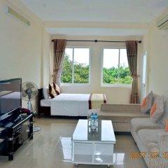 Отель Lam Son Deluxe Apartments Вьетнам, Вунгтау - отзывы, цены и фото номеров - забронировать отель Lam Son Deluxe Apartments онлайн комната для гостей фото 4