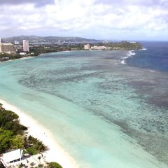Отель Dusit Thani Guam Resort пляж фото 2