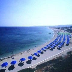 Отель Mitsis Family Village Beach Hotel Греция, Калимнос - отзывы, цены и фото номеров - забронировать отель Mitsis Family Village Beach Hotel онлайн пляж фото 2