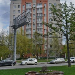 Гостиница Moskva4you Prospect 60 October 3-4 парковка