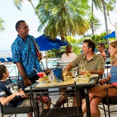 Отель Fiji Hideaway Resort and Spa питание