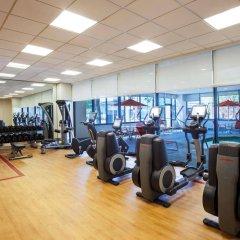 Отель Sheraton Lincoln Harbor Вихокен фитнесс-зал