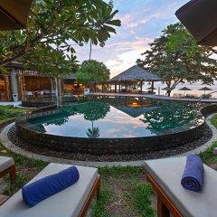 Отель Outrigger Koh Samui Beach Resort Таиланд, Самуи - отзывы, цены и фото номеров - забронировать отель Outrigger Koh Samui Beach Resort онлайн бассейн