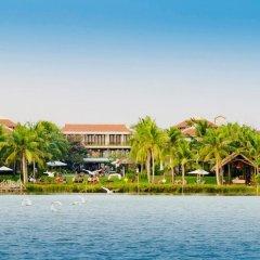 Отель Vinh Hung Emerald Resort пляж фото 2