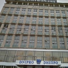 Отель Днипро Киев вид на фасад