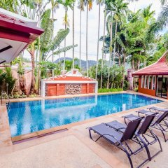 Отель Serene Boutique Garden Resorts бассейн фото 3