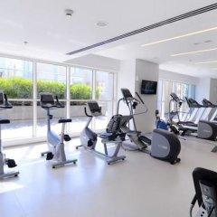 Отель Stunning 4 BDR Penthouse in Dubai Marina фитнесс-зал