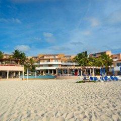 Отель Sunset Fishermen Beach Resort Плая-дель-Кармен пляж