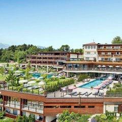 Hotel Chalet Mirabell Авеленго приотельная территория фото 2