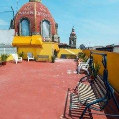 Отель Hostal Amigo Suites Мехико спортивное сооружение