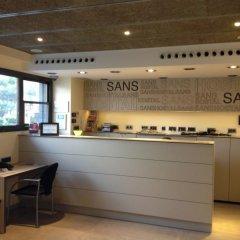 Отель Hostal Sans Испания, Барселона - отзывы, цены и фото номеров - забронировать отель Hostal Sans онлайн интерьер отеля фото 3