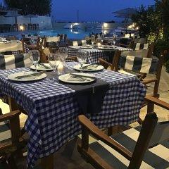 Отель Thera Mare Hotel Греция, Остров Санторини - 1 отзыв об отеле, цены и фото номеров - забронировать отель Thera Mare Hotel онлайн питание