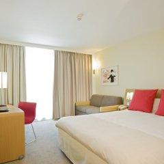 Отель Novotel Edinburgh Park Великобритания, Эдинбург - 1 отзыв об отеле, цены и фото номеров - забронировать отель Novotel Edinburgh Park онлайн комната для гостей фото 4