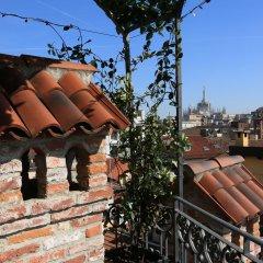 Отель Santa Marta Suites Милан приотельная территория