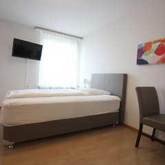 Апартаменты Apartments Swiss Star Zürich-aussersihl Цюрих комната для гостей фото 5